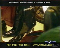 Feet Under The Table - The N.1 Resource for female feet seduction scenes - Videos, pictures and stories of women seducing men with their feet